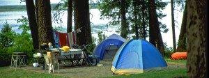 Campingferie sammen med barna?